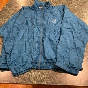 Vintage Sergio Tacchini Blue Windbreaker Jacket